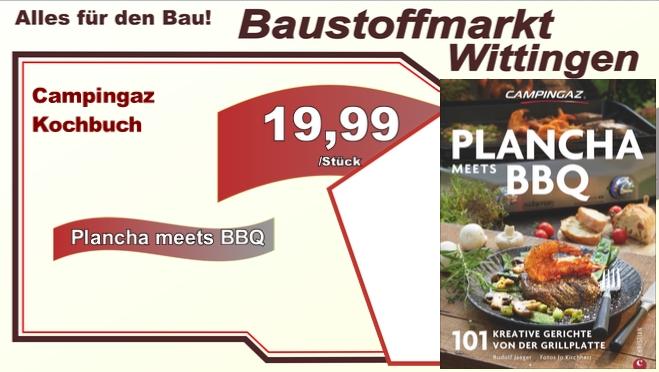 Campingaz Kochbuch  Plancha meets BBQ