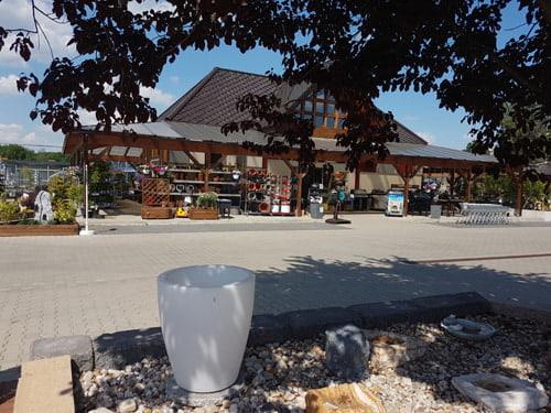 Außenbereich des Baustoffmarkts in Wittingen