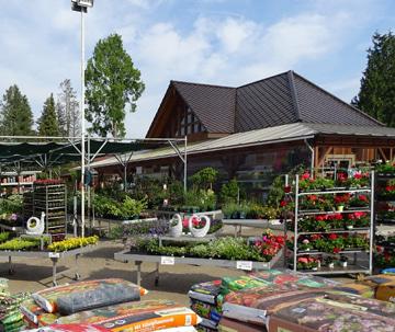 Baustoffmarkt Wittingen, Gartenausstellung, Natursteine, Pflanzen, Gartenbedarf